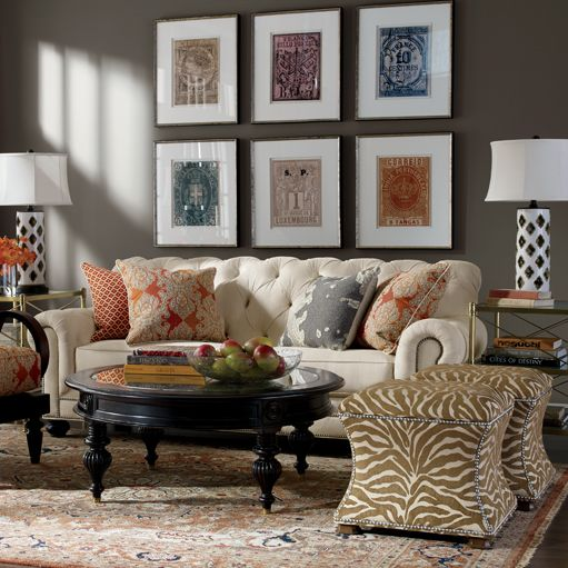 94 best ethan allen living rooms images on pinterest - Ethan allen living room inspiration ...
