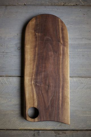 handmade cutting boards made out of walnut wood
