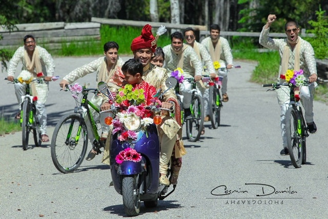 baraat on bikes and motorcycle