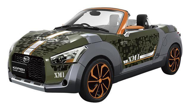 2014 Daihatsu Kopen XM1 Concept