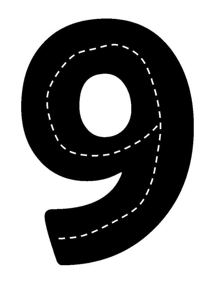 Verkeerscijfer 9