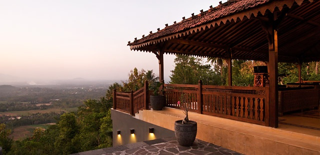 Villa Borobudur Magelang, Indonesie