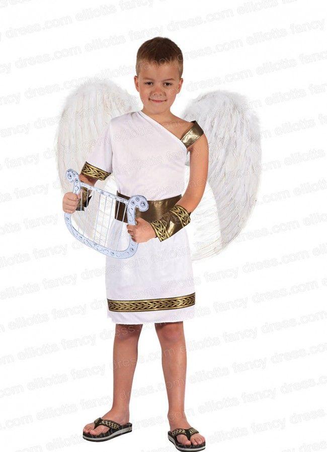angel gladiator boys costume - Kids Angel Halloween Costume