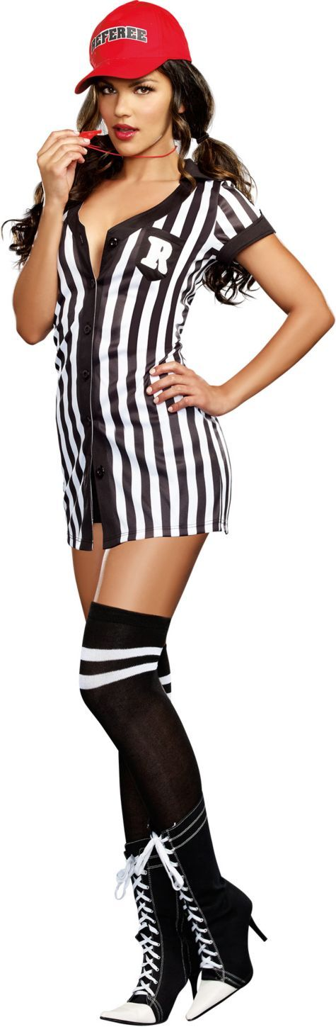 Adult My Game My Rules Referee Costume - Party City
