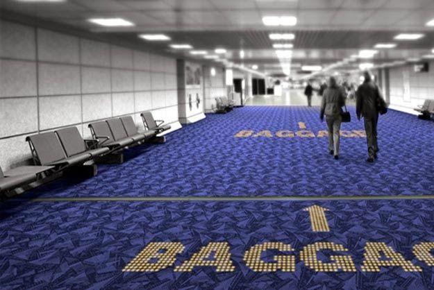 Carpete com LED transforma o chão em sinais interativos
