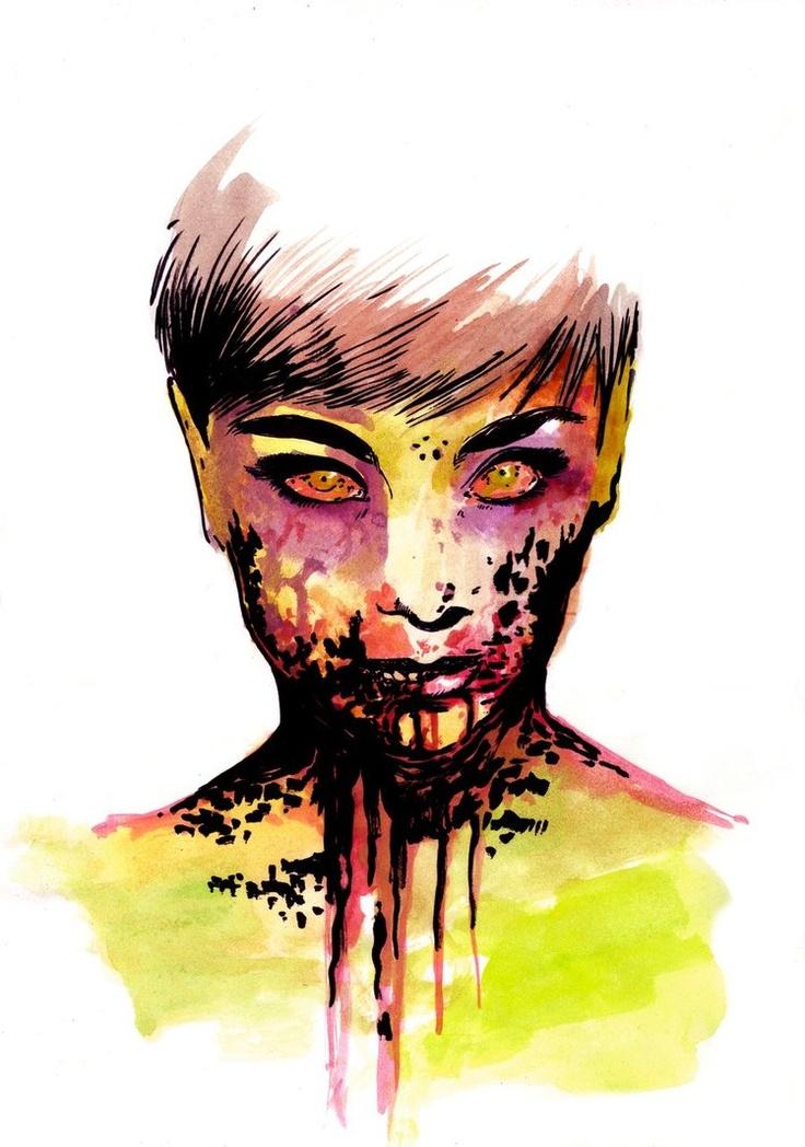Zombie Girl by ~NitroVTesta on deviantART
