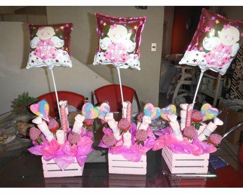 Decoracion de canastas para dulces buscar con google for Decoracion para mesa dulce