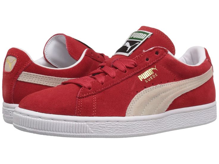 PUMA Suede Classic + Women | High Risk Red / White (362213-65)