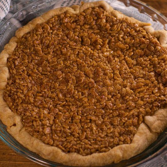 Rice Crispy Pecanless Pie
