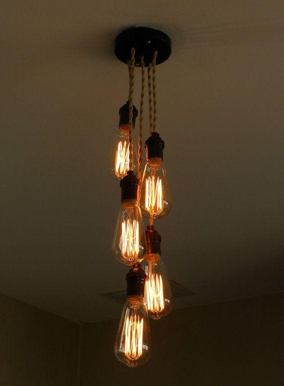 5 Cluster Any Colors Modern Pendant light by HangoutLighting