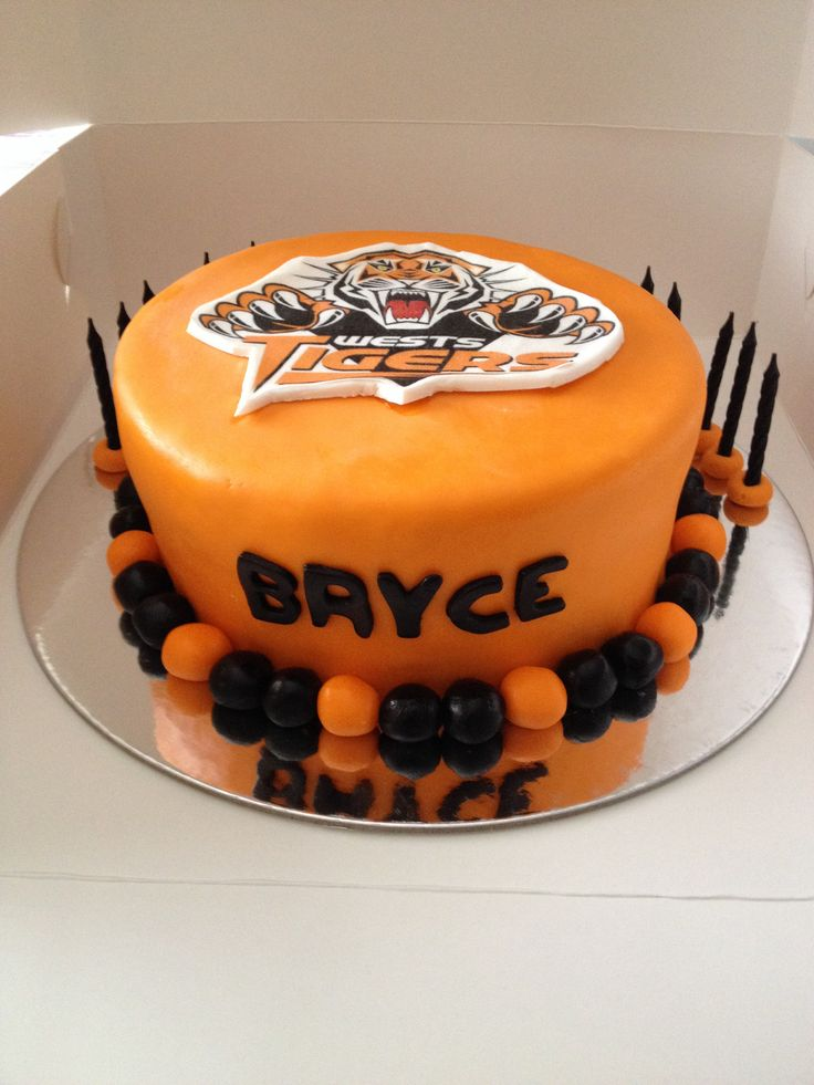 West tigers cake
