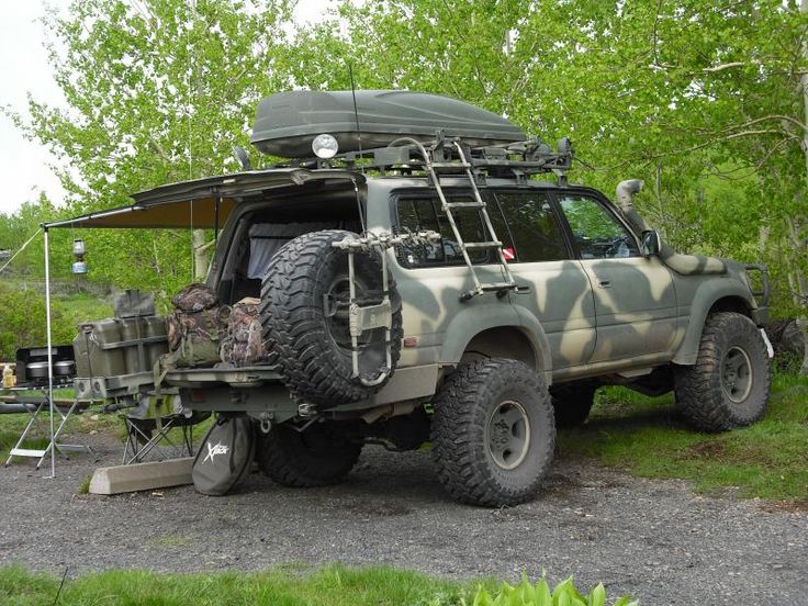 80 series Landcruiser... Prepared? I know it's a landcruiser but interesting idea for the jeep