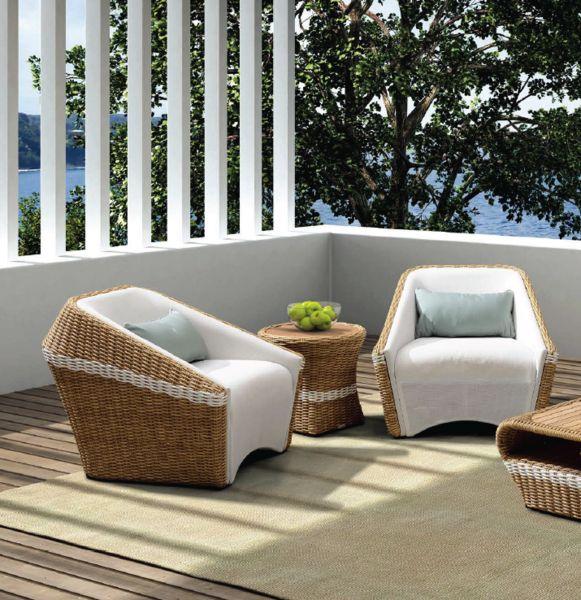Contemporary Outdoor Furniture Weather Resistant Wickers Dedon Modern Design  | Suites | Pinterest