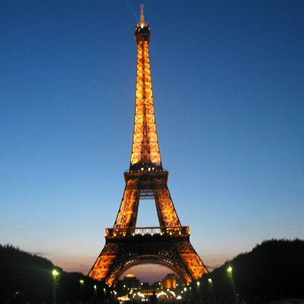 Paris never been there but i would love to one day!