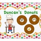 This sorting activity is ideal for a home-living, dramatic play, or ABC center. It includes a sorting mat, 12 donut cards with pictures, a student ...