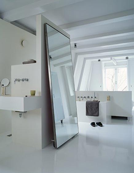 minimalistiche-slaapkamer-badkamer
