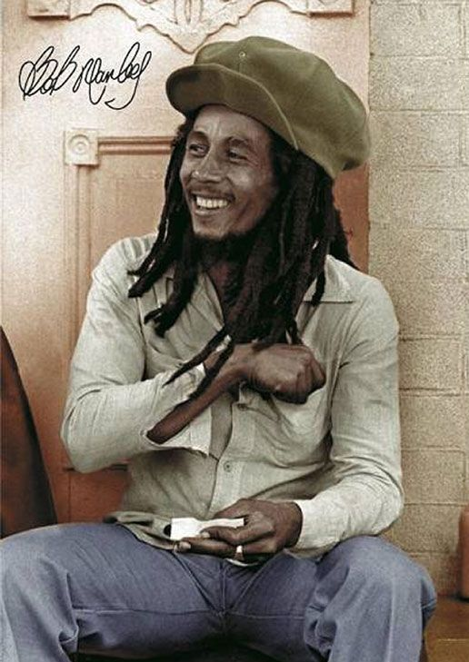 What a lovely man! His music has helped bring together so many people, more so today, than ever before. Most of my family is from Jamaica, and even my Grandmother who disdains Rastafari, and dreadlocks, always talks about how good his music was.
