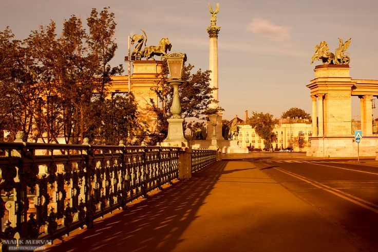 Budapest, Heroes Square.