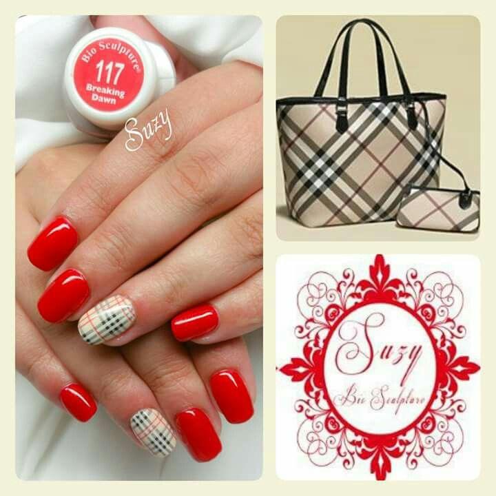 Suzy bio sculpture nail art ❤❤