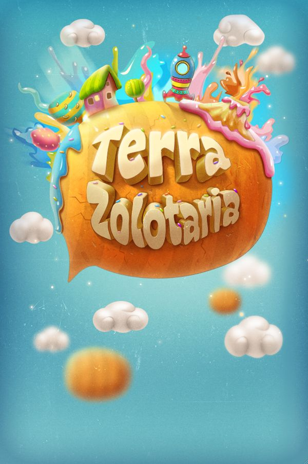 Game screens by Tatiana Koidanov, via Behance