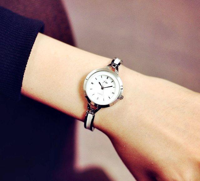 Złoty Srebrny Zegarek Elegancki Damski EdiBazzar