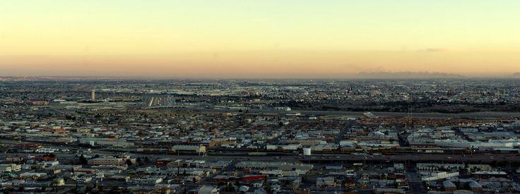 El Paso city & Ciudad Juárez