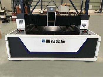 16mm thick stainless steel plate fiber laser cutting machine price from baiwei laser