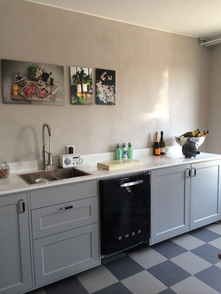 Shaker kök i snygg grå nyans NSC 4000-N