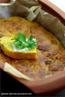 Garnek Rzymski: Chleb kukurydziany z pietruszką