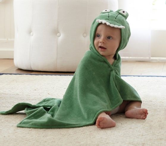 Alligator - Nursery Critter Wraps from Pottery Barn Kids