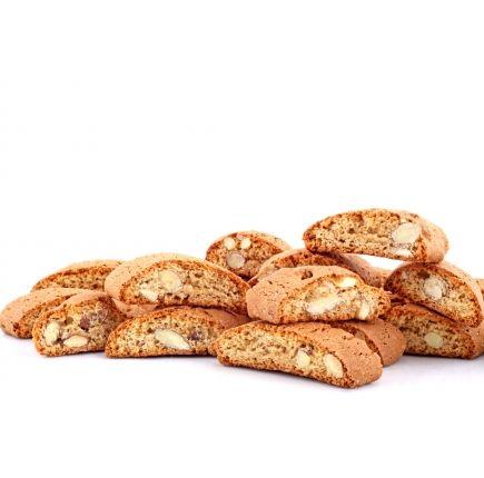 CROQUANTS AUX AMANDES LINÉADIET X 5 Croquants aux amandes riches en protéines prêt à l'emploi.  Les croquants saveur amande sont des biscuits équilibrés, adaptés lors d'un programme de perte de poids. A déguster en en-cas vous apprécierez vos pauses douceurs au bon goût d'amande.