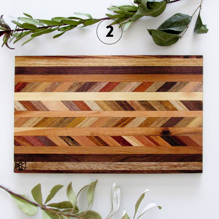 Chevron Reclaimed Wood Cutting Board — The best cutting board ever created? Perhaps.