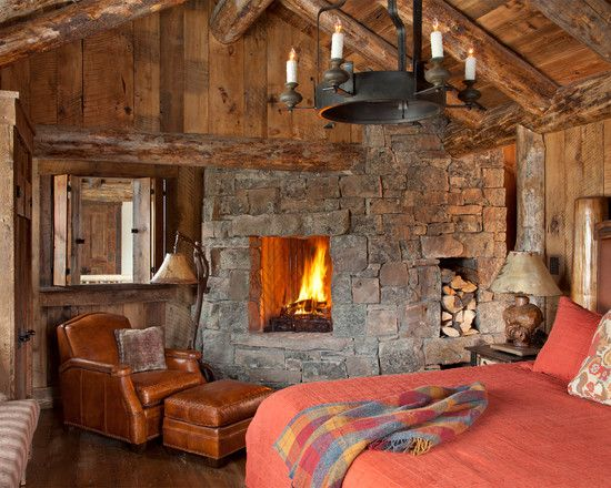 15 Cool Rustic Bedroom Fireplace Photo Inspirational