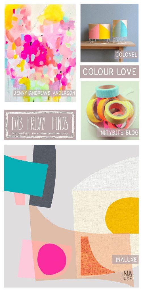 Fab Friday Finds - Week 11 - Colour Love - on Rebecca Stoner www.rebeccastoner.co.uk