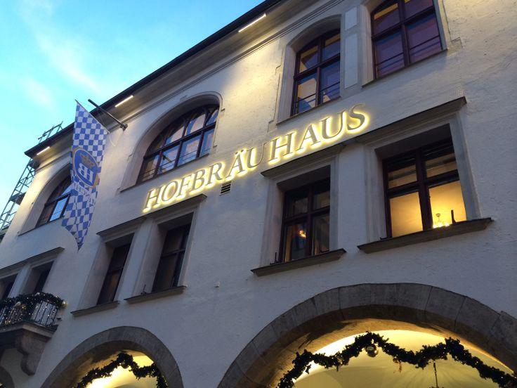 Meeting @ the Hofbrauhaus
