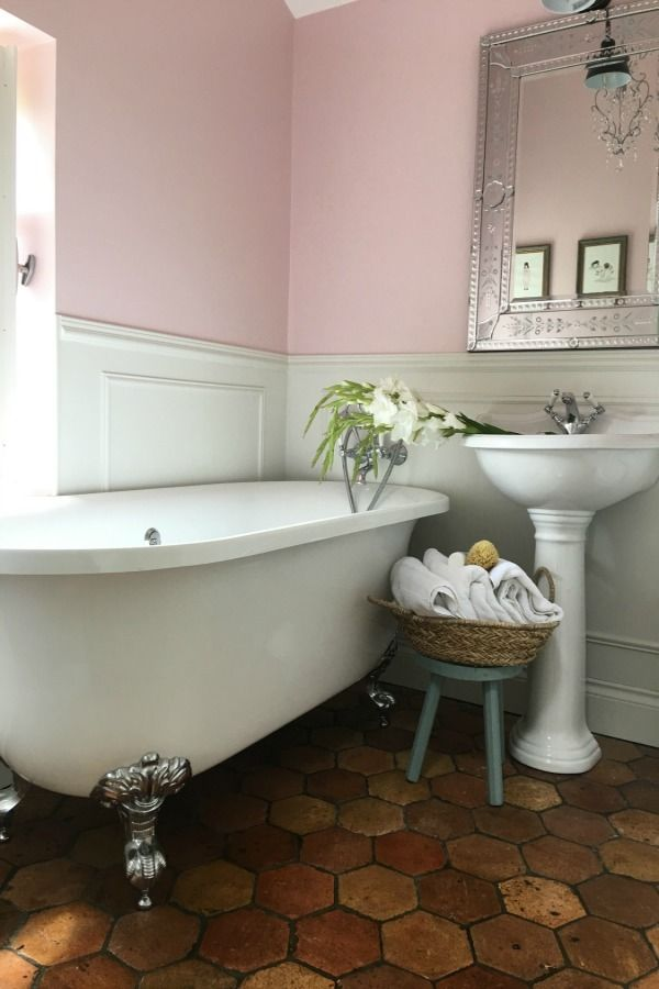 French Farmhouse Design Inspiration & House Tour | bathroom ...