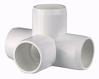 Internal Cap PVC fittings for capping the end of PVC pipe with a smooth end. Available in furniture grade & many other colors and sizes.