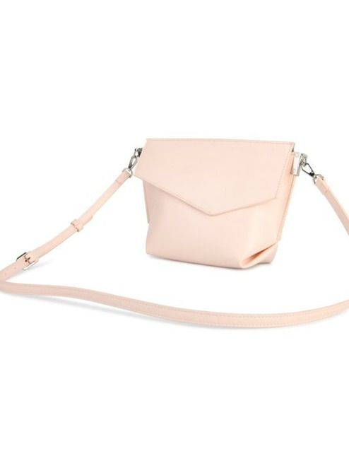 Lucy Crossbody Purse - Blush | This adorable little purse features three compartments and a detachable shoulder strap! #torontofashion #CanadianDesigners #canadianfashion #canadianfashionblogger #canadiandesigner #canadianbrands #veganleather #veganfashion #crueltyfree #pixiemood #pixiemoodbag #vegantotes #backpack #veganpurse #purse #convertiblebag #crossbodybag #crossbodypurse #crossbodyshoulderbag #springfashion #torontostyle