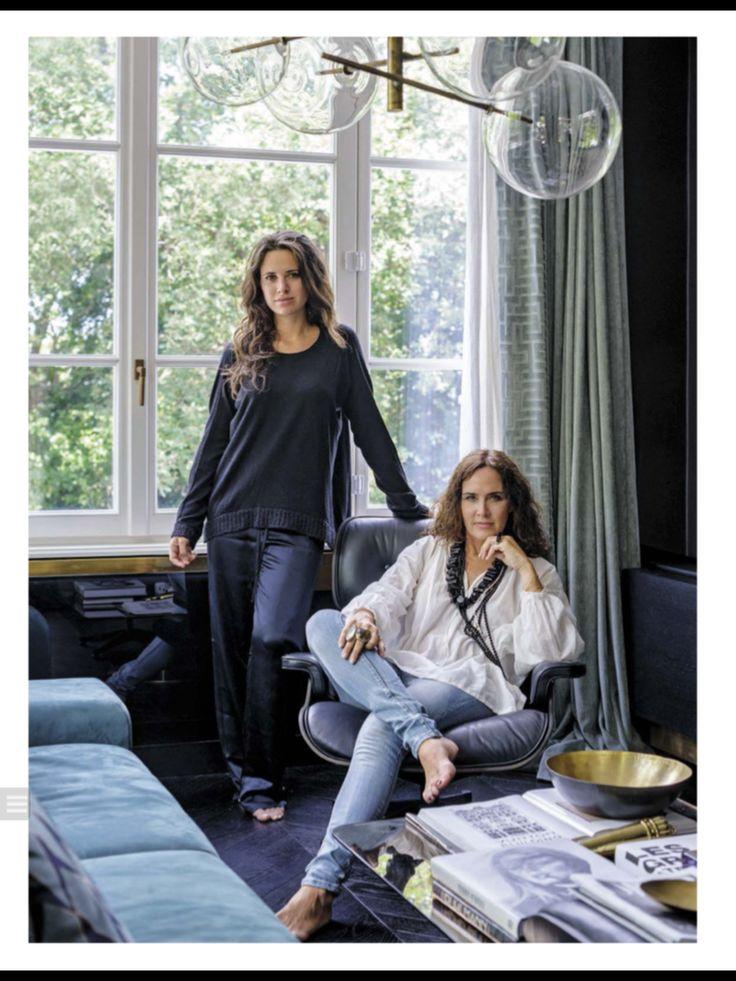 AD Italia, Novembre 2015  Interior designers Damonte & Lacarrieu Saint Tropez  Monica Damonte and Victoria Lacarrieu