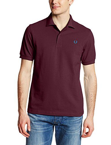 Fred Perry Men's Plain Polo Shirt