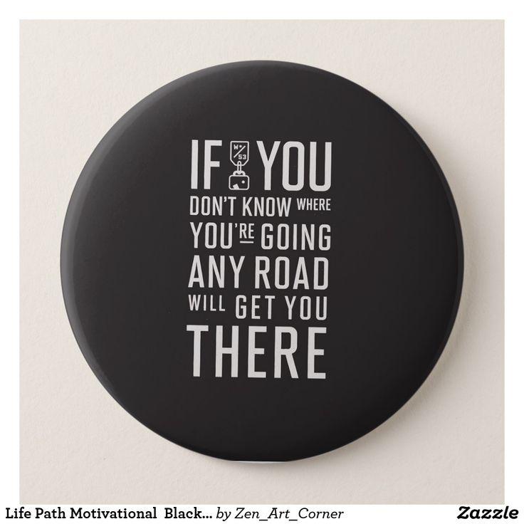 Life Path Motivational  Black Badge