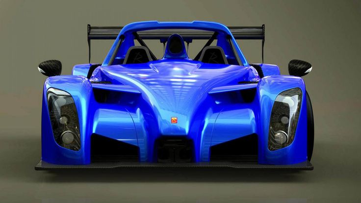 This is the new Radical SR8 RSX. It has no roof, no windscreen, and it hails from Peterborough.