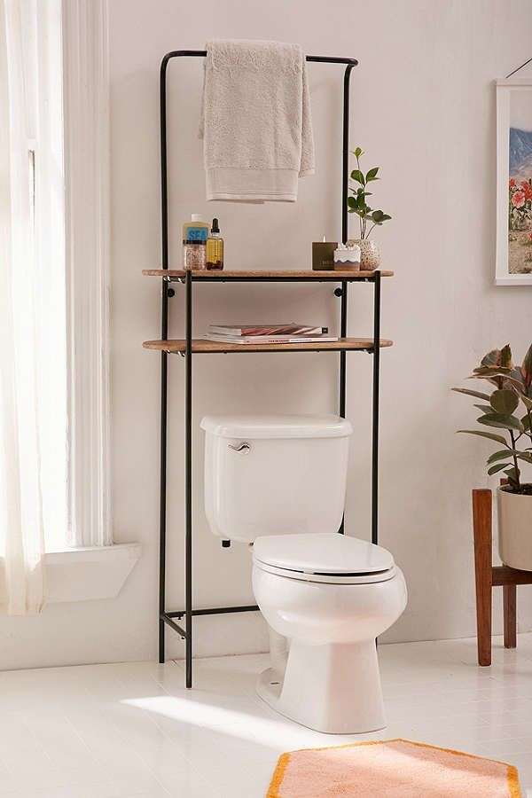 Slide View: 1: Dorset Bathroom Storage Shelf