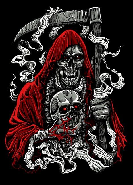 995 best images about r i p reaper on pinterest angel of for Badass angel tattoos