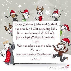 Weihnachtssprüche für Weihnachtsgrüße – #fur #…