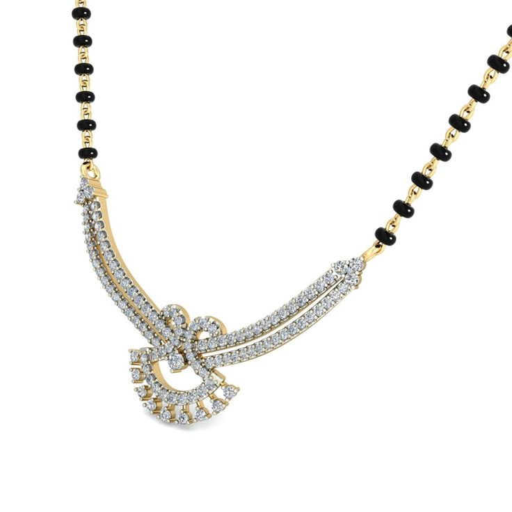 The Zaharah Diamond Mangalsutra