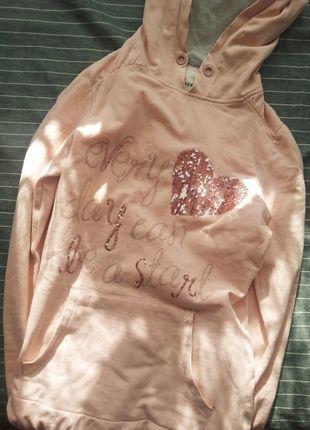 Kup mój przedmiot na #vintedpl http://www.vinted.pl/damska-odziez/bluzy/11137107-rozowa-bluza-reserved-rozmiar-xss
