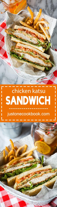 Chicken Katsu Sandwich (チキンカツサンド) | Easy Japanese Recipes at JustOneCookbook.com