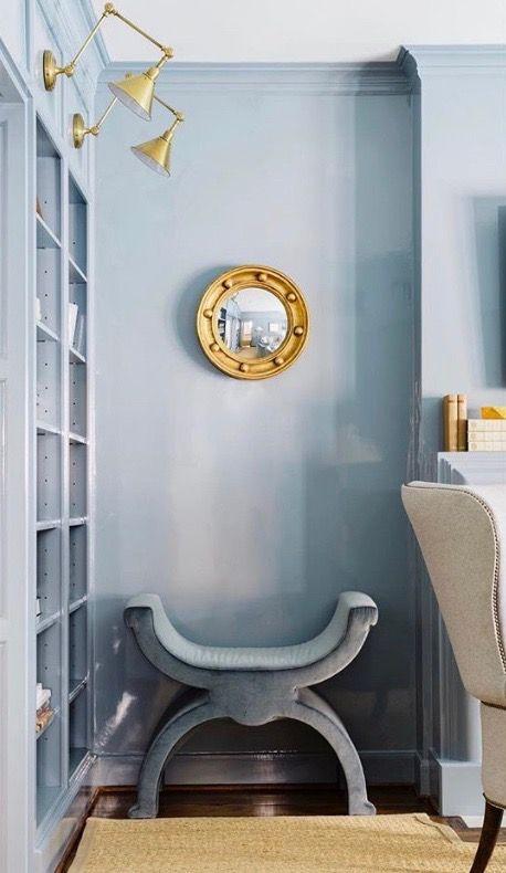 Benjamin Moore Waters Edge In 2019 Home Decor Room
