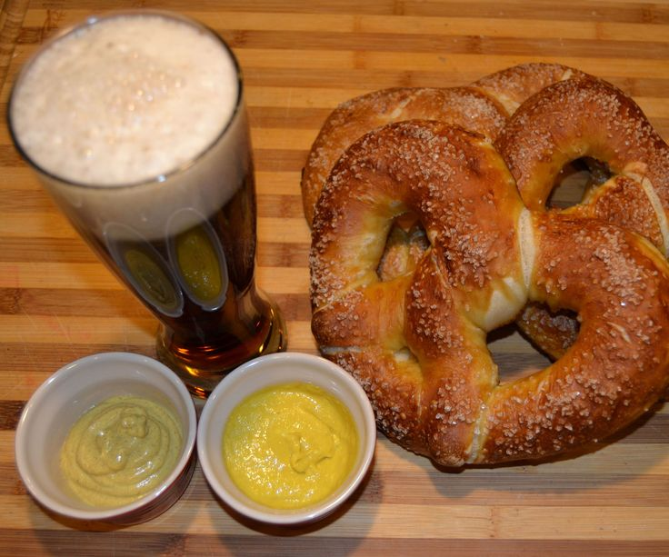 While living in southern Germany I developed a taste for Bavarian style pretzels, along with German beer and sausages. This recipe produces the best pretzels I have had since Germany. I have tried all sorts of recipes, including boiling in a baking soda solution. None come close to this recipe and you don't have to boil them. The secret is lye! German bakers dip their pretzels in a lye solution before salting and baking them. Lye can be dangerous to work with but I will show you my method...
